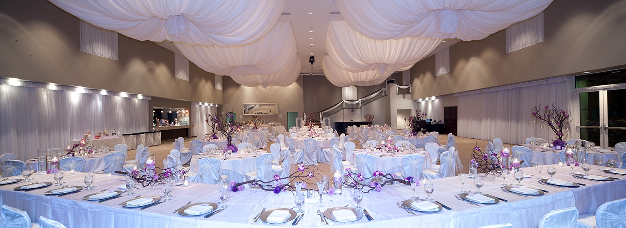 Las vegas wedding events venue emerald at queensridge reception banquet hall junglespirit Image collections